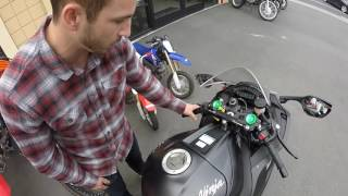 10. 2015 Kawasaki Ninja ZX10R | The Purchase and Starting Point | Episode 1