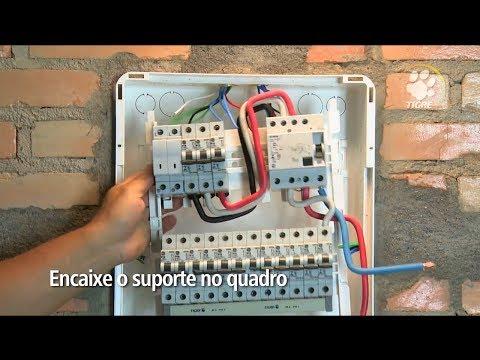 Instalação de Quadro de Distribuição TIGRE - HD