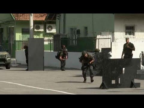 Βραζιλία: Ο στρατός εκπαιδεύει την αστυνομία