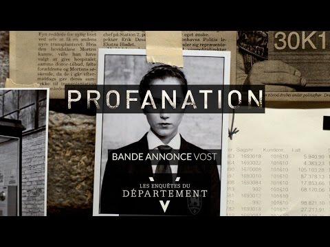 Les Enquêtes du Département V : Profanation ( VOSTFR )