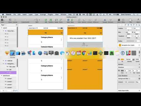 Learn To Build Your First Professional iOS App - Positioning Element in App UI