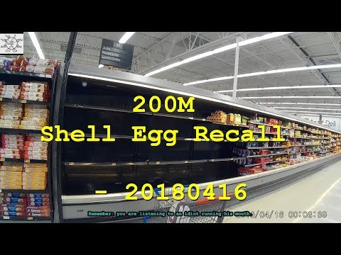 200M Shell Egg Recall - 20180416