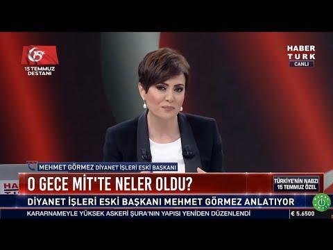 Habertürk :Türkiye'nin Nabzı :15 Temmuz Özel I Mehmet Görmez Telefon Bağlantısı(20Temmuz2018)