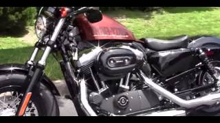 8. 2014 Harley-Davidson Sportster Forty Eight