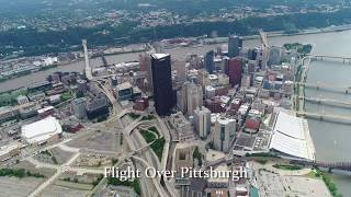 With a custom handheld mount, this smooth video is from a DJI Phantom 4 Pro drone while flying a Cessna 182 over Pittsburgh. The test of this setup worked gr...