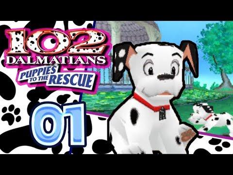 Disney's 102 Dalmatians: Puppies to the Rescue Walkthrough Part 1 (PS1) 100% Regent's Park
