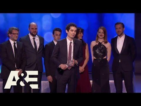 """La La Land"" Wins Best Picture | 22nd Annual Critics' Choice Awards | A&E"