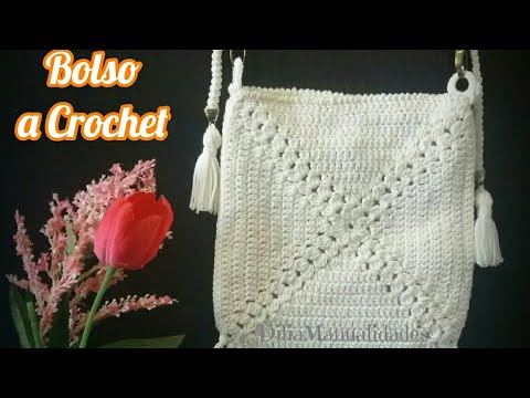 Bolso A Crochet  👜Gratis ✔ Crochet Shoulder Bag Tutorial