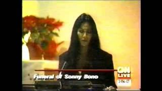 Video CNN-SONNY BONO FUNERAL-1/9/98-CHER EULOGY MP3, 3GP, MP4, WEBM, AVI, FLV Oktober 2018