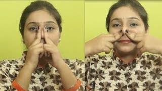 How To Get Straight and Sharper Nose/ Beauty Tips