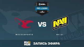 mousesports vs Na'Vi - ESL Pro League S6 EU - de_cobblestone [Crystalmay, ceh9]