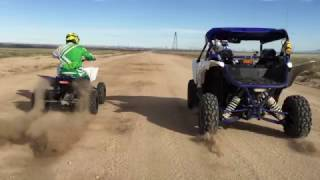 8. Speed Run Yamaha YFZ450R vs YXZ1000R