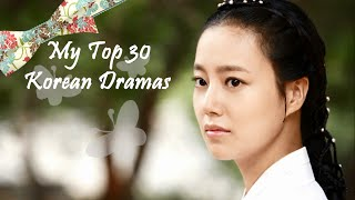 Video My Top 30 Korean Dramas MP3, 3GP, MP4, WEBM, AVI, FLV April 2018