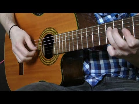 Lionel Richie - Hello (classical Guitar)