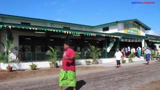 Salelologa Samoa  City new picture : Don Bosco opens $1.5m hall at Salelologa, Savai'i