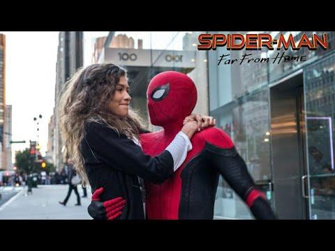 Spider-Man: Far From Home Ending Scene