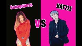 Video Savageness Battle (Yoonie) | BlackBangtan Battle Part 2| Ships Edition MP3, 3GP, MP4, WEBM, AVI, FLV Desember 2018