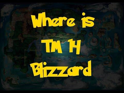Where Is: TM 14 - Blizzard (Pokemon Alpha Sapphire/Omega Ruby)