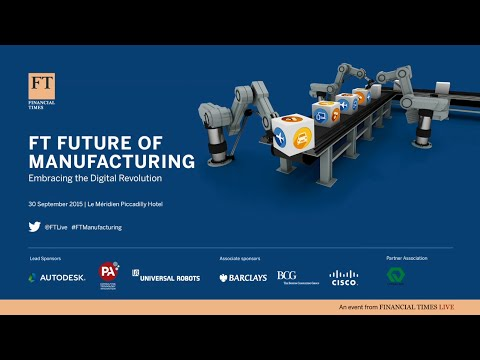 Jordan Brandt of Autodesk presents to FT Manufacturing Summit