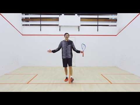 Squash tips: Amateur analysis - Hitting ball back to the opponent