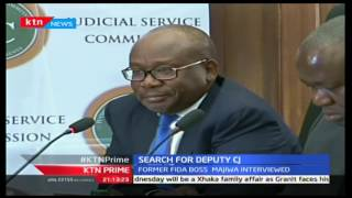 KTN Prime: High Court Judge Achode And FIDA Boss Majiwa Face JSC In Search For DCJ, Septemba 28 2016