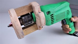 Video How to Make a Wooden Router Attachment for a Drill machine. | DIY . MP3, 3GP, MP4, WEBM, AVI, FLV April 2019