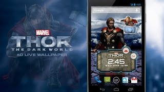 Thor: The Dark World LWP YouTube video
