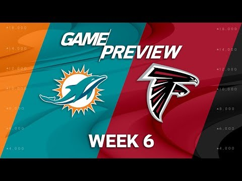 Video: Miami Dolphins vs. Atlanta Falcons | Week 6 Game Preview | NFL Playbook