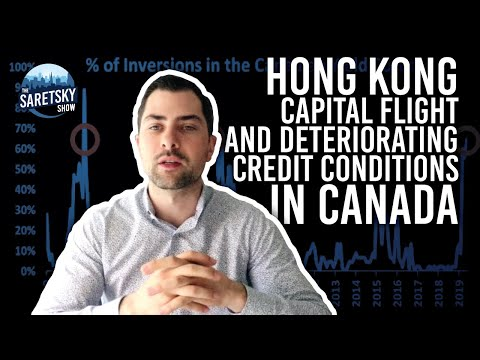 Hong Kong Capital Flight & Deteriorating Credit Conditions In Canada