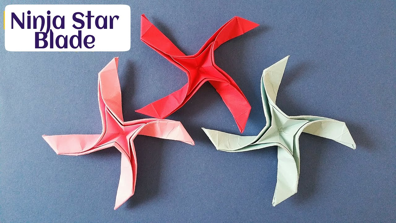 how to make a paper super ninja star