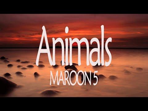 Animals (Lyrics) - Maroon 5