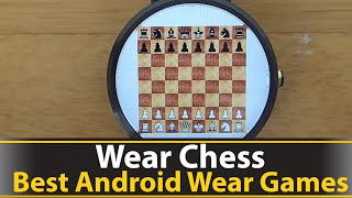 Wear Chess is chess game which allows you to play chess against an AI on your android wear smart watch. This is also an open source project which means that if you are a developer you can view and modify the source code. This is a great app for both chess players and developers who are interested in learning how to create apps/games for android wear.Git Hub: https://github.com/mitchazj/Wearable-ChessPlay Store: https://play.google.com/store/apps/details?id=com.orangutandevelopment.wearablechess