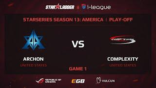 Archon vs coL, game 1