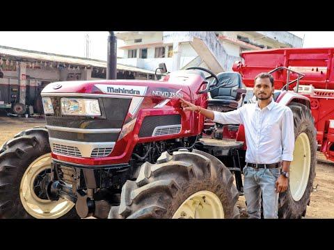 Mahindra Arjun Nova 755 Di 75hp 4wd||Specifications||Walk around||Overview