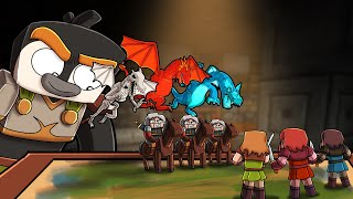 Minecraft Dragons - STARTING A DRAGON WAR!