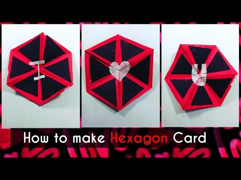 Birthday wishes for best friend - How to make Hexaflexagon Card for Boyfriend /Birthday /Valentines Day