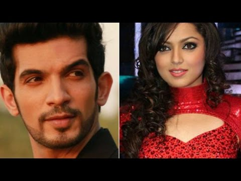 Drashti dhami and Arjun Bijlani shoots for Pardes