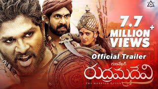 Nonton Rudhramadevi Official Trailer    Anushka  Allu Arjun  Rana  Gunasekhar Film Subtitle Indonesia Streaming Movie Download