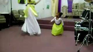 1 YEAR OLD BABY PRAISE DANCE