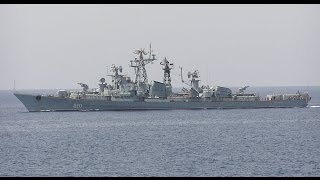 """A Russian destroyer had to open warning fire as a Turkish fishing vessel sailed on a collision course towards them and didn't respond to calls from the warship, the Russian Defense Ministry reported.The incident happened in the northern part of the Aegean Sea some 12 nautical miles from the Greek island of Lemnos, the ministry said.Subscribe https://www.youtube.com/worldnews1https://www.youtube.com/channel/UCC9R3qjRAXMa9w4k_SzmKTAwatch https://www.youtube.com/watch?v=Fc1mabGoX5YThe crew of the Kashin-class guided missile destroyer Smetlivy spotted the Turkish fishing trawler some 1,000 meters from the Russian warship early on Sunday morning, the ministry said. The ship was sailing towards the destroyer and ignored calls for radio contact and other attempts to communicate.When the Turkish vessel approached to about 600 meters, the Smetlivy opened small arms fire at a spot in front of the trawler, taking care to avoid any risk of hitting the Turkish ship itself, the report said.The ministry said the Turkish fishing ship changed course after that and kept about 540 meters from the Smetlivy, but didn't contact the Russian warship.""""Russian Deputy Defense Minister Anatoly Antonov has summoned the military attaché of the Turkish embassy in Russia in connection with the incident in the Aegean Sea,"""" the statement said.There is serious tension between Turkey and Russia after an incident on the Turkish-Syrian border, in which Turkish fighter jets shot down a Russian bomber plane conducting airstrikes against terrorist forces in Syria. Turkey said the move was justified by a 17-second incursion into Turkish airspace.Russia denied the Russian warplane crossed the border and called the incident a stab in the back. Moscow accused Ankara of protecting terrorists in Syria to ensure a continued flow of smuggled oil to Turkey, which Russia says profits some senior Turkish officials.Russia fires Turkey boat warning shotBBC News - 38 minutes agoRussia says one of its warships fired warn"""