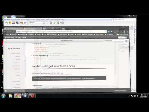 Learn to Build Mobile Apps from Scratch - Chapter 12 - Accelerometer