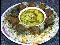 Download Lagu Kichiri Quroot Shola Recipe - Afghan sticky Rice with meatballs Mp3 Free