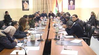 محافظة طولكرم تلتقي بالفريق الاستشاري الدولي لبرنامج تطوير نظام إدارة مخاطر الكوارث
