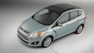 SOLAR Powered Passenger Car - Ford CMAX Solar Energi Hybrid Concept