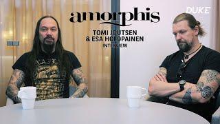 Amorphis - Interview Tomi Joutsen & Esa Holopainen - Paris 2018 - Duke TV [VOSTFR]