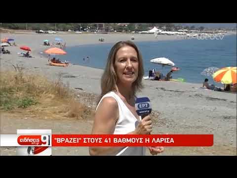 Στα ύψη ο υδράργυρος – Στις παραλίες αναζητούν διέξοδο από τον καύσωνα | 08/07/2019 | ΕΡΤ