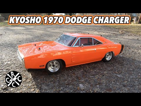 Kyosho Fazer Mk2 1970 Dodge Charger 4WD RC - Unboxing, Speed Test, and First Run