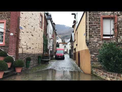 Hochwasser in Ediger Eller (видео)