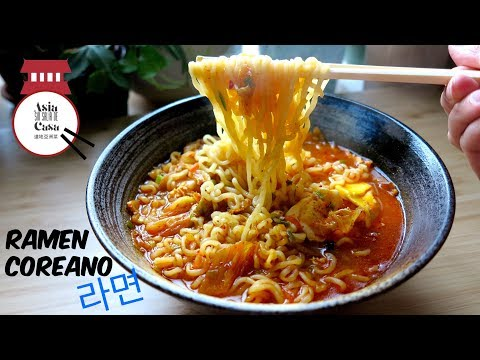 RAMYEON - Ramen Coreano Picante / Spicy Korean Ramen