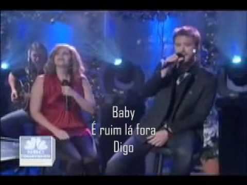 Tekst piosenki Lady Antebellum - Baby, It's Cold Outside po polsku